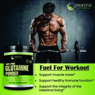 PRISTINE FOODS L GLUTAMINE POWDER 5000 MG 300 GRAMOS