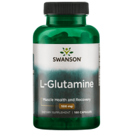 SWANSON L-GLUTAMINE 500 MG 100 CAPS